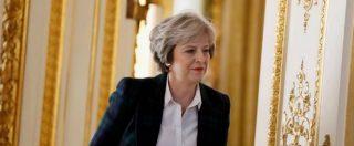 """Brexit, May presenta il piano d'uscita: """"Vogliamo libero scambio ma fuori dal mercato unico europeo"""""""