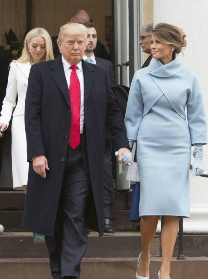 Trump, Melania veste Ralph Lauren: così la First Lady s'ispira a Jackie Kennedy