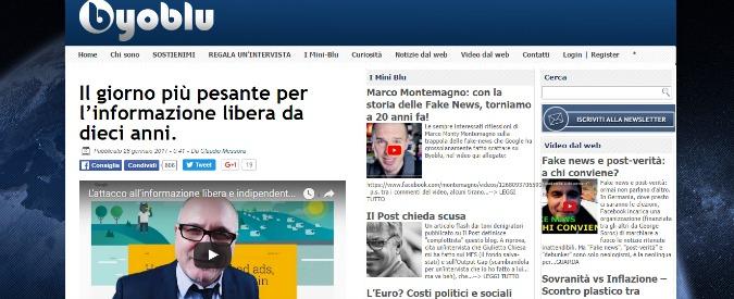 """Google, Messora: """"Disattivata raccolta pubblicitaria su mio blog. Caccia alle fake news per spegnere la rete"""""""