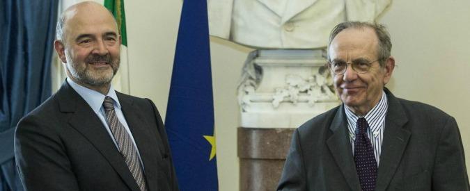 """Conti pubblici, Tesoro: """"Risulteremo in linea con le regole europee"""". Ma per Bruxelles c'è un buco da 5 miliardi"""