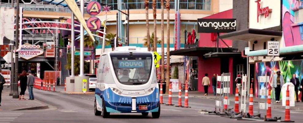 Las Vegas, al via la sperimentazione per il servizio di shuttle a guida autonoma