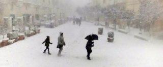 Maltempo, ondata di gelo al sud e centro Italia: cinque morti. Collegamenti nel caos