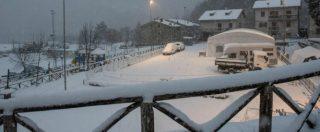 """Maltempo, ancora neve al sud Italia. Papa: """"Dormitori aperti 24 ore su 24"""". Sacchi a pelo ai senzatetto a Roma"""