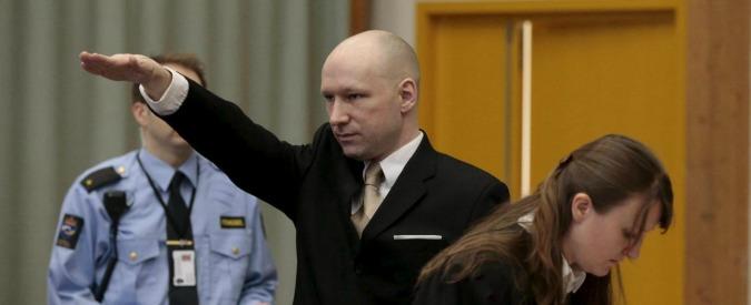 Anders Breivik contro lo Stato per trattamento disumano, in aula ancora il saluto nazista