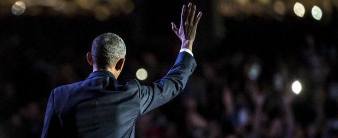 Barack Obama piange. Ed è rimpianto