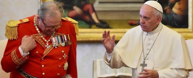 """Ordine di Malta, tensioni interne e """"caso preservativi"""": Papa chiede e ottiene le dimissioni del Gran Maestro"""