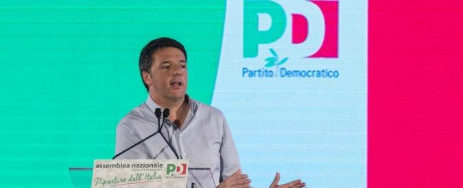 """Pd, Renzi: """"Disegno contro di noi. La vicenda dei sacchetti è emblematica"""". E propone deroga per Gentiloni e ministri"""