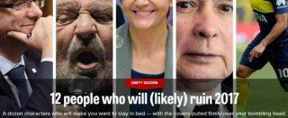"""Grillo tra i """"guastatori"""" dell'Europa nel 2017 per il giornale Politico. Ma per il blog diventa """"tra i più influenti"""""""