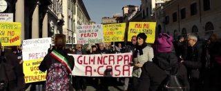 """Terremotati in piazza a Roma: """"La burocrazia uccide più del terremoto"""""""