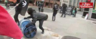 Trump, proteste a Washington: violenti scontri tra polizia e manifestanti