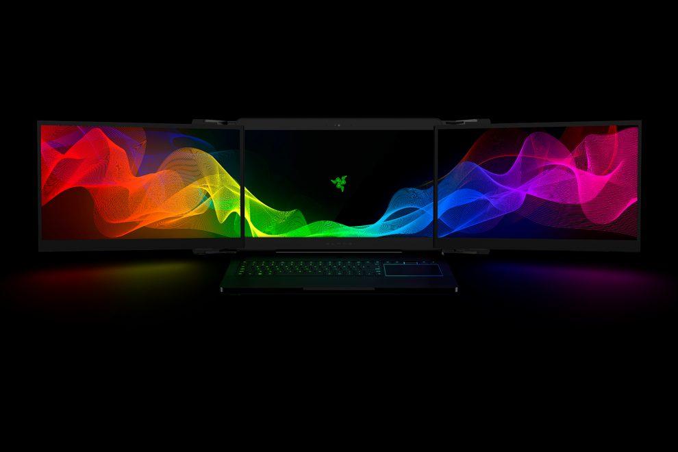 Razer annuncia il suo notebook da gaming con tre monitor