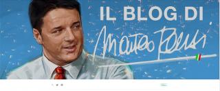 Matteo Renzi apre un blog. Ma non era lui a dire a Grillo di uscirne?