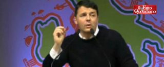 """Pd, Renzi contro giornalisti, M5S, Raggi, detrattori. E su Grillo: """"E' spregiudicato-pregiudicato"""""""