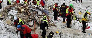 """Rigopiano, 29 vittime e 11 sopravvissuti. I vigili del fuoco: """"Operazioni di soccorso tra le più complesse mai gestite"""""""