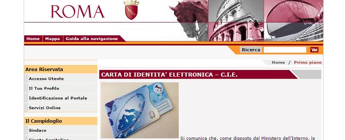 Roma, 2017. La carta d'identità? Ripassi tra un mese
