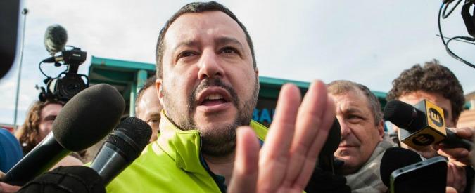 """Salvini: """"Il centrodestra non esiste. Berlusconi lo vuole come la Merkel, ma dimentica il 2016. Io sto con Trump"""""""