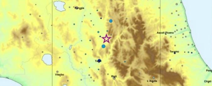 Terremoto, sequenza di scosse nel centro Italia: la più forte in provincia di Perugia