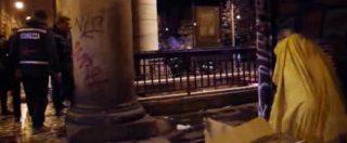 Gelo a Roma, tre stazioni della metro aperte per i senzatetto. Si dorme a Vittorio, Flaminio e Piramide