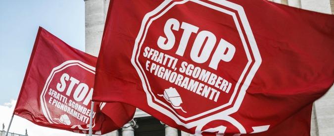 Emergenza abitativa, in Italia nel 2015 oltre 57mila sfratti per morosità. Roma in testa: fuori casa 1 famiglia ogni 272