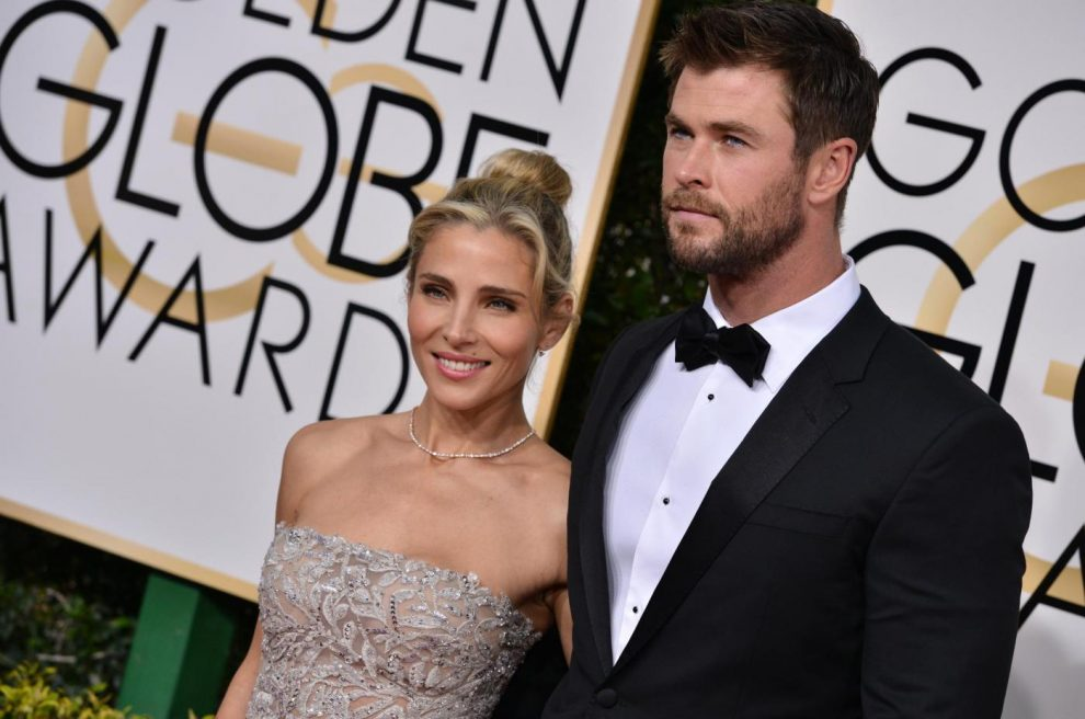 Elsa Pataky and Chris Hemsworth attend the 74th Annual Golden Globe Awards at the Beverly Hilton in Beverly Hills, Los Angeles, CA, USA, on January 8, 2017. Photo by Lionel Hahn/ABACAPRESS.COM Abaca press/LaPresseOnly Italy 577377