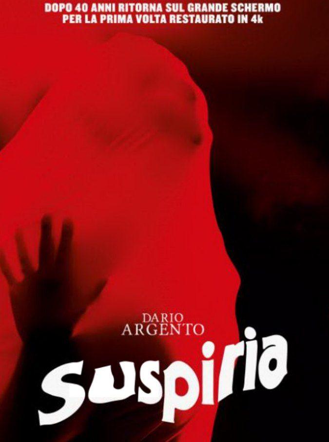 Suspiria, il capolavoro di Dario Argento torna al cinema in 4K a 40 anni dall'uscita