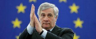 """Elezioni, Berlusconi: """"Tajani premier? Sarebbe bellissimo. Convinto della vittoria, centrodestra al 45%, FI traino"""""""