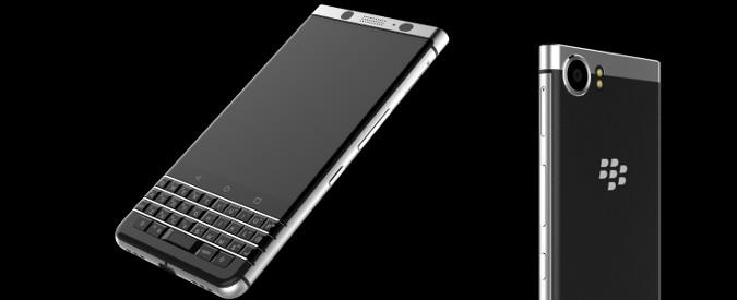 BlackBerry, al CES 2017 un nuovo smartphone Android con tastiera fisica