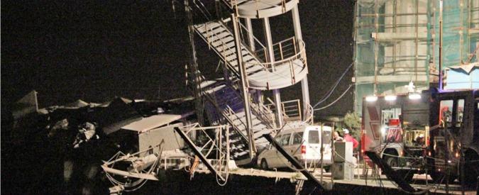 Crollo Torre Piloti, 12 rinviati a giudizio nel processo-bis: anche l'ex comandante delle Capitanerie di porto italiane