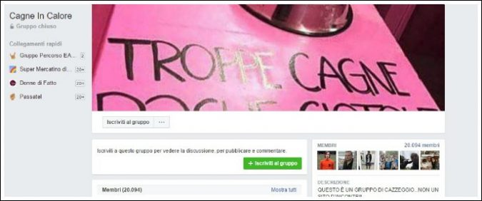 Facebook, pubblicare foto di donne senza consenso è uno stupro