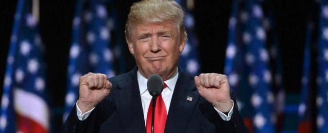 Donald Trump, primo (ed assai impopolare) presidente dell'Usastan