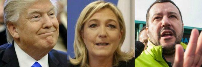 Trump, Le Pen e Salvini: 'utili idioti' del vero potere