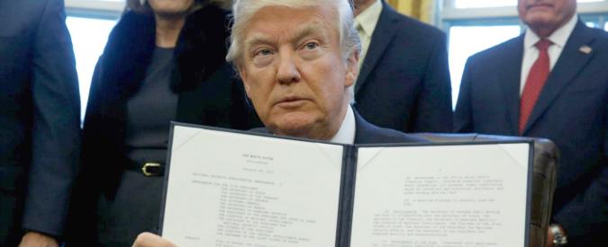 """Usa, """"Trump pensa a una mobilitazione di 100mila soldati della Guardia nazionale contro gli immigrati"""""""