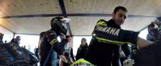 Valentino Rossi e la passione per il motocross, la prova in soggettiva nel ranch di Tavullia