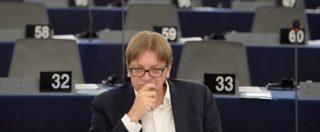 """M5s, metà Alde ha votato contro l'accordo di Verhofstadt. """"I Cinquestelle sarebbero diventati troppo influenti"""""""