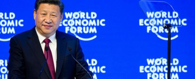 """Globalizzazione, il presidente cinese la elogia e sfida Trump: """"Protezionismo è come chiudersi in una stanza buia"""""""