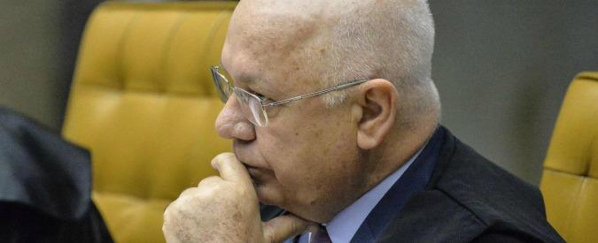 Brasile, morto in incidente aereo il giudice che si occupava del processo sui fondi neri di Petrobras