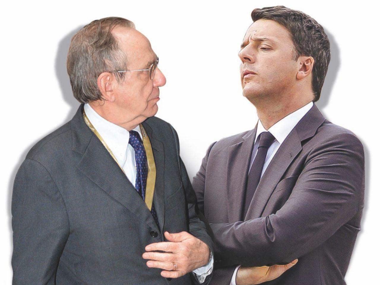 """Sul Fatto dell'11 febbraio. Renzi chiama Padoan: """"Non dovevi cedere a Bruxelles"""""""