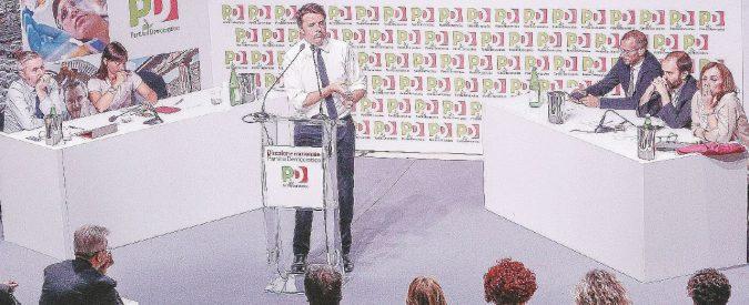 Renzi, congresso lampo (e magari elezioni subito)