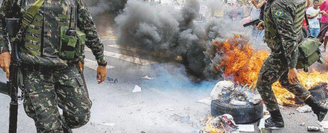 Espirito Santo, la polizia sciopera. 120 omicidi in una settimana
