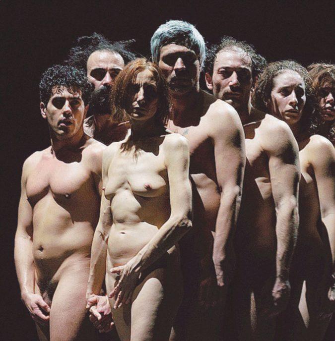 Adamo ed Eva, peccatori fragili e nudi davanti al Dio pubblico