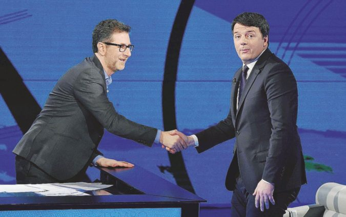 Il ritorno sbiadito di Renzi con l'incubo D'Alema e papà
