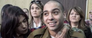 Elor Azaria, condannato a 18 mesi il soldato israeliano che uccise un assalitore palestinese ferito a terra – FOTO