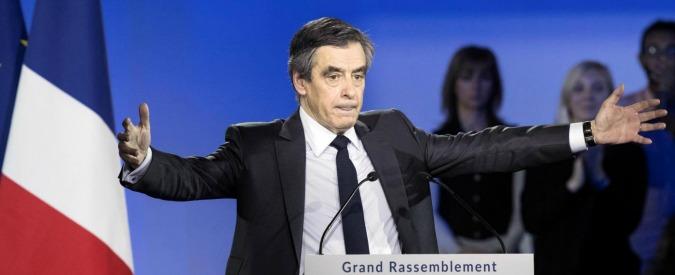 """Francia, Fillon: """"Ho sbagliato ad assumere mia moglie, chiedo scusa. Resisto e vado avanti, non ho violato la legge"""""""