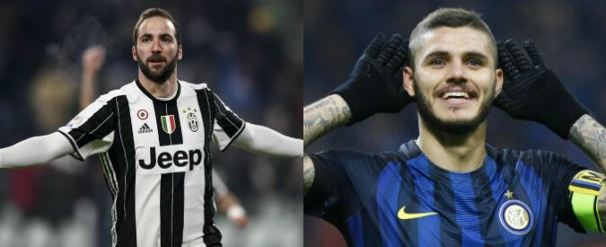 """Juventus-Inter, Higuain contro Icardi. Pioli: """"Siamo la squadra giusta per mettere in difficoltà la capolista""""- VIDEO"""