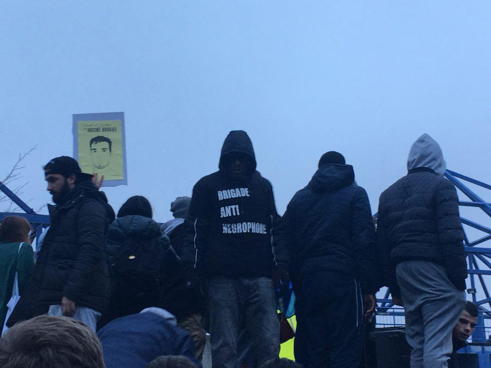 Parigi scontri nella banlieue alla manifestazione per for Parigi a febbraio