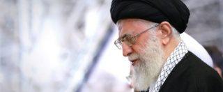 """Usa-Iran, ayatollah Khamenei vs Trump: """"Ha mostrato il vero volto degli Usa"""""""
