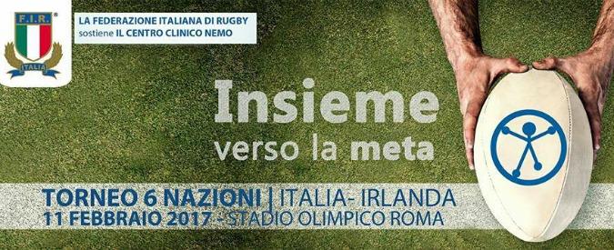 """La nazionale italiana di rugby sostiene i malati di Sma: """"Insieme in meta contro le patologie neuromuscolari"""" – VIDEO"""