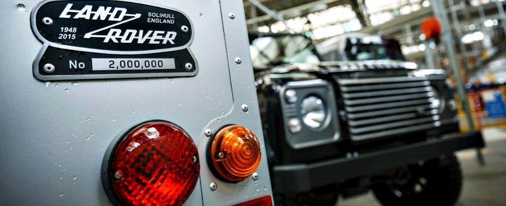 Jaguar-Land Rover, doppio furto in fabbrica. In sei minuti rubati motori per 3,7 milioni di dollari