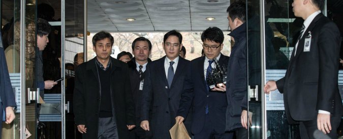 Samsung, arrestato il vicepresidente Lee Jae-yong per corruzione