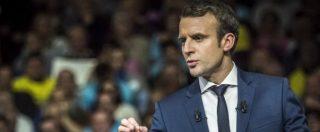 """Francia, l'investitura di Macron il rottamatore: """"Superare sinistra e destra"""". La folla lancia l'anti-Le Pen al grido 'Europa'"""